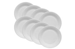 Assiettes en carton blanc