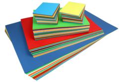 Maxi lot de 750 cartes fortes - formats assortis - Ramettes de papiers – 10doigts.fr