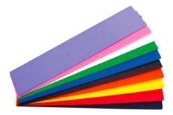 assortiment papier crépon