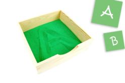 Bac à sable - Apprentissage dessin et écriture - Dessin 1er âge – 10doigts.fr