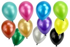 Ballons ronds, couleurs métallisées - Set de 100 - Ballons, guirlandes, serpentins – 10doigts.fr