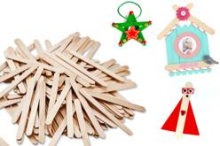 bâtons bois maquette