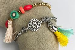 Perles billes intercalaires or ou argent - 1500 perles - Perles intercalaires – 10doigts.fr - 2