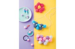 Pompons couleurs pastel - Set de 120 - Pompons – 10doigts.fr - 2