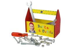 Boîte à outils vide-poche - Boîtes et coffrets – 10doigts.fr - 2