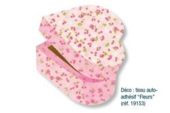 Boîte coeur en bois avec fermeture aimantée - Boîtes et coffrets – 10doigts.fr - 2