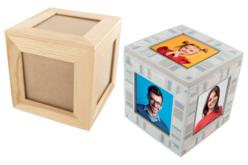 boite cube cadre photos