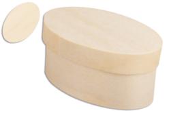 Boîte ovale en bois - Boîtes et coffrets – 10doigts.fr - 2