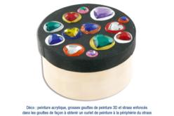 Boîte ronde en bois - Boîtes et coffrets – 10doigts.fr - 2