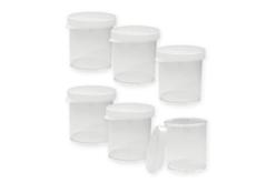 Boîtes de rangement transparente - Lot de 6 - Rangements – 10doigts.fr - 2