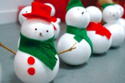 Feutrine couleurs de Noël - 6 feuilles 20 x 30 cm - Feutrine, feutre, toile de jute – 10doigts.fr - 2