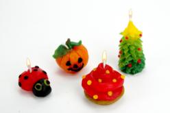 Bougies à modeler sans cuisson - 1 kg - Cires, gel  et bougies – 10doigts.fr - 2