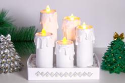 Bougies électriques - Cires, gel  et bougies – 10doigts.fr - 2