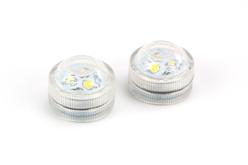 Bougies LED puissantes - Set de 2 - Cires, gel  et bougies – 10doigts.fr