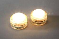 Bougies LED puissantes - Set de 2 - Cires, gel  et bougies – 10doigts.fr - 2