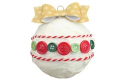 Boutons ronds en plastique couleurs Noël - Set de 300 - Boutons – 10doigts.fr - 2