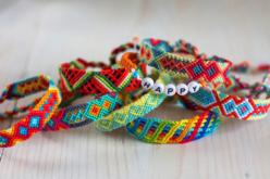 Echevettes de fils coton - 20 bobines couleurs vives - Fils – 10doigts.fr - 2