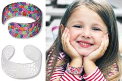"""Bracelet cristal """"mosaïques"""" à décorer"""