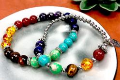 Perles Jaspe Impérial vert - 48 perles - Perles Lithothérapie – 10doigts.fr - 2