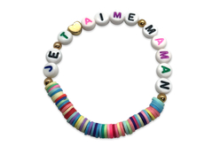 Perles intercalaires cœur or et argent - 100 perles - Perles intercalaires – 10doigts.fr - 2