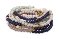 Perles rondes opaques et translucides - 1500 perles - Perles opaques – 10doigts.fr - 2