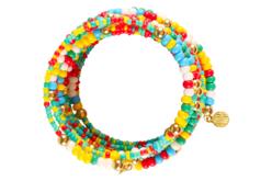 Fil mémoire de forme - bracelet ou collier - Bracelets – 10doigts.fr - 2