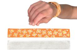 """Bracelet enrouleur """"Snap On"""" - Support textile à customiser – 10doigts.fr"""