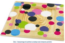 Tampons mousse 4 tailles - Set de 12 - Eponges – 10doigts.fr - 2