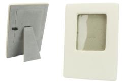 Cadres en céramique blanche - Lot de 6 - Cadres photos – 10doigts.fr