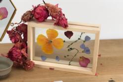 Cadre en bois avec double vitre - Cadres photos en bois – 10doigts.fr - 2