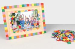 Cadre photo en bois vitré 23 x 18 cm - Cadres photos en bois – 10doigts.fr