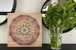 String Art - Kit créatif pour 8 tableaux assortis - String Art – 10doigts.fr - 2