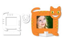 Cadres photo animaux à colorier - Set de 16 - Supports blancs – 10doigts.fr - 2