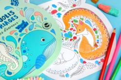 Cahier de coloriage bulles d'animaux - Supports pré-dessinés – 10doigts.fr - 2