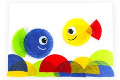 Caissettes en papier, couleurs assorties - 250 pièces - Papier alvéolé, accordéon – 10doigts.fr - 2