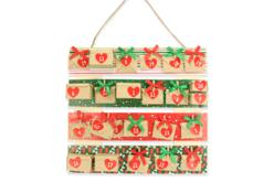 Papier glacé motifs de Noël - 96 feuilles - Décorations Noël – 10doigts.fr - 2