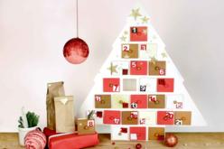 Sapin calendrier de l'Avent - Décorations de Noël en bois – 10doigts.fr - 2