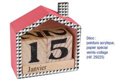 Calendrier perpétuel maison - Divers – 10doigts.fr - 2