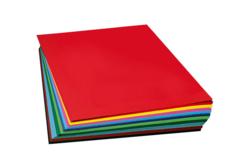 Papiers épais teintés (300 gr) 50 x 70 cm - Couleurs au choix - Papiers Unis – 10doigts.fr - 2