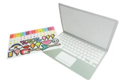 """Carte ordinateur message """"Bonne fête maman, papa"""" - Kits activités carteries – 10doigts.fr - 2"""