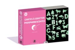 Coffret cartes à gratter Phosphorescentes - Coffret Coloriage et Dessin – 10doigts.fr