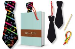 Cravate en carte à gratter + accessoires  - Cartes à gratter – 10doigts.fr