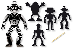 Cartes à gratter robot