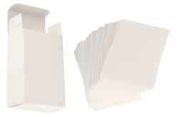 Jeu de 60 cartes et sa boite à customiser - Supports blancs – 10doigts.fr - 2