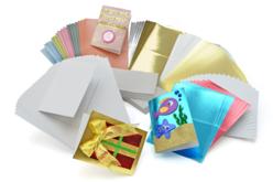 Mega pack carterie : 100 cartes + 100 enveloppes - Carterie – 10doigts.fr
