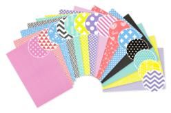 Papiers motifs géométriques 21 x 29.7 cm - 14 feuilles - Papiers motifs géométriques – 10doigts.fr - 2