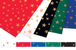Cartes étoilées, 5 couleurs assorties - Set de 10 - Décorations Noël – 10doigts.fr