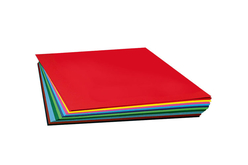 Papiers légers teintés (130 gr) 50 x 70 cm - Couleurs au choix - Papiers Grands Formats – 10doigts.fr - 2