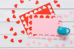 cartes pérforées coeur