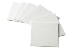 Cartons entoilés carrés - 100% Coton - Cartons toilés – 10doigts.fr - 2